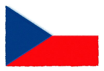 チェコ共和国の国旗イラスト 由来・意味を解説