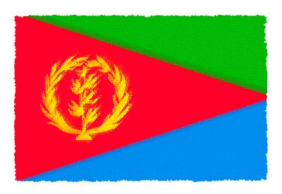 エリトリア国の国旗イラスト 由来・意味を解説
