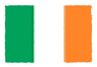 アイルランドの国旗イラスト 由来・意味を解説