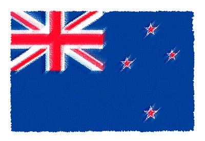 ニュージーランドの国旗イラスト 由来・意味を解説