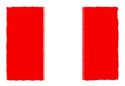 ペルー共和国の国旗イラスト 由来・意味を解説