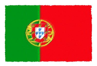ポルトガル共和国の国旗イラスト 由来・意味を解説