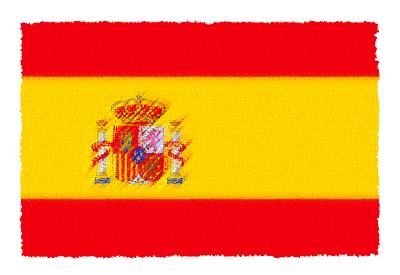 スペインの国旗イラスト 由来・意味を解説