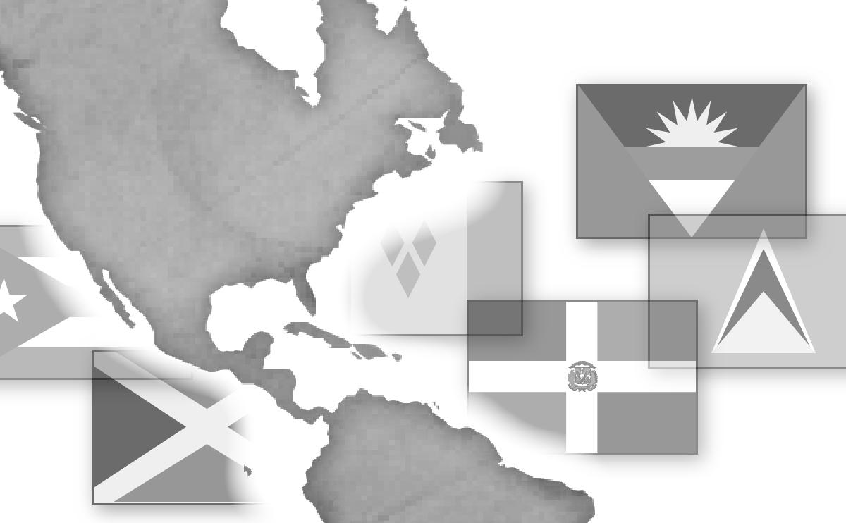 北中米地域の国旗由来
