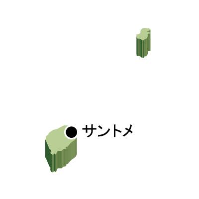 首都名・立体(緑)