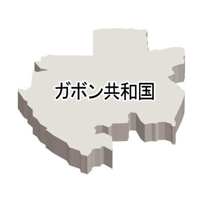 漢字・立体(白)