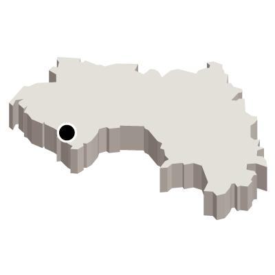 首都・立体(白)