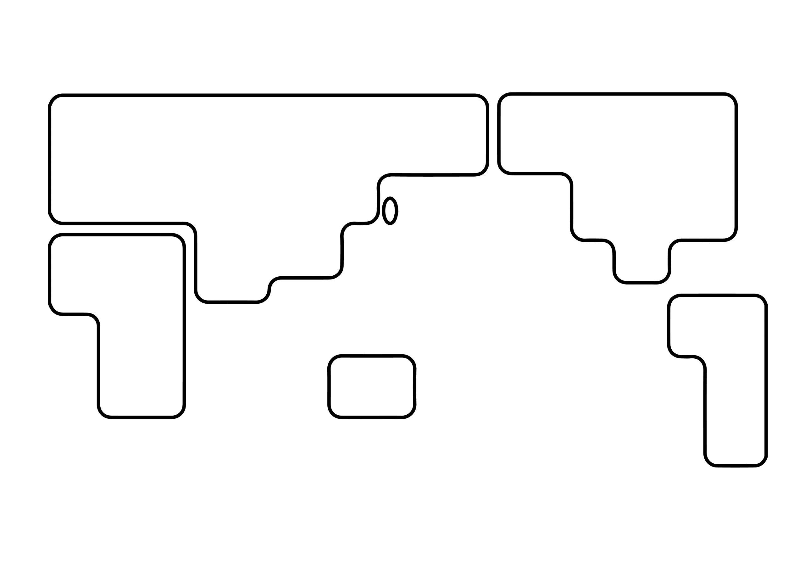 角丸(白)