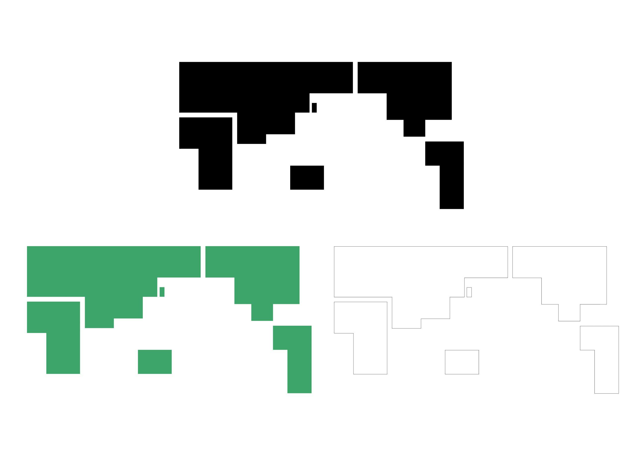 簡易四角(3色)