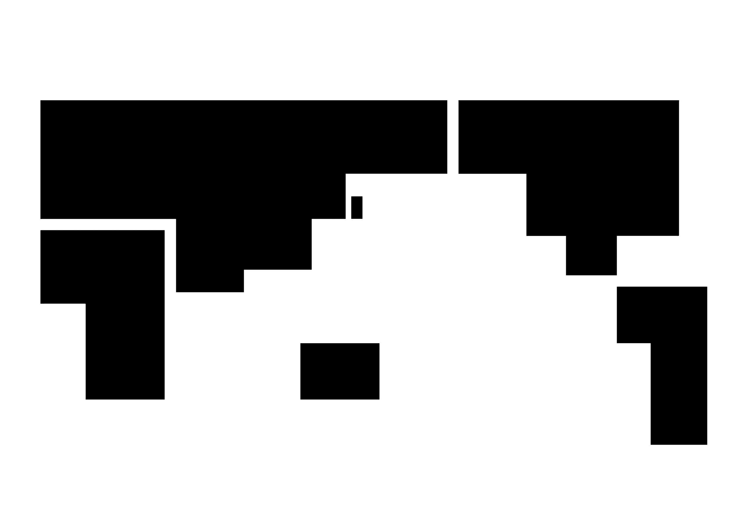 簡易四角(黒)
