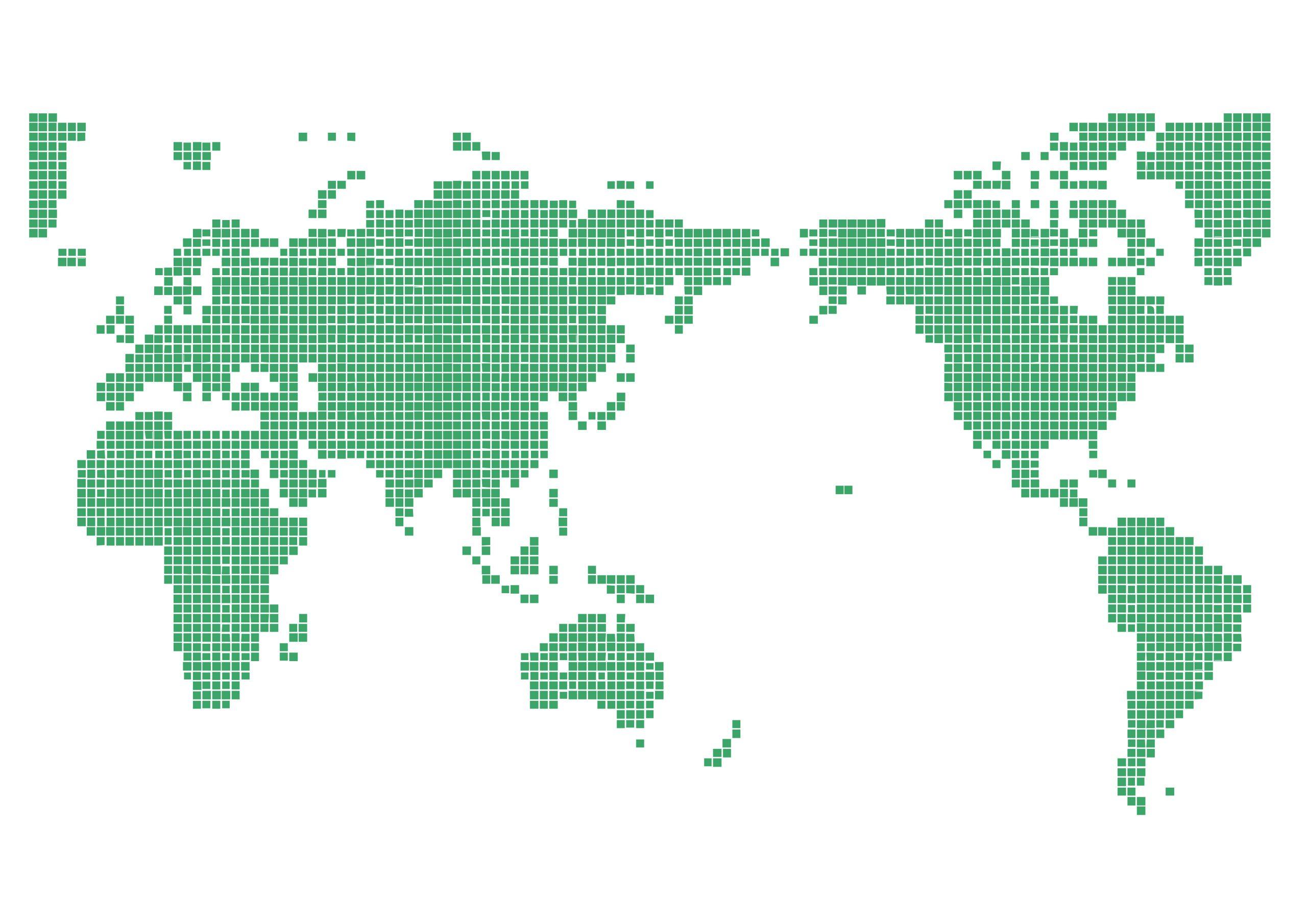 四角ドット(緑)