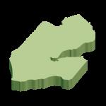 無地・立体(緑)