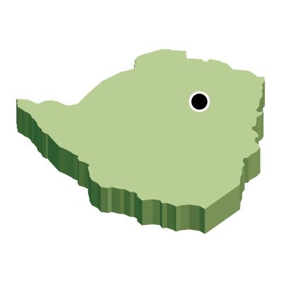 首都・立体(緑)